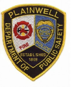 Plainwell Public Safety patch